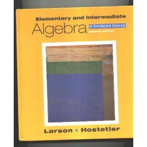 9780669417647: Elementary and Intermediate Algebra: A Combined Course