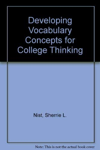 9780669418354: Developing Vocabulary Concepts for College Thinking