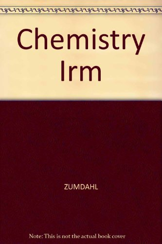 9780669418774: Chemistry, Instructor's Resource Guide, 4th Edition
