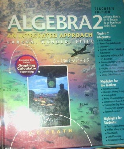 9780669431636: Algebra 2 An Integrated Approach Teacher's Edition