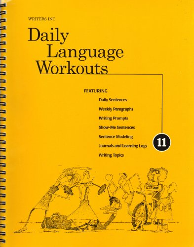 9780669432718: Writers Inc Daily Language Workouts: A Daily Language and Writing Program for Grade 11