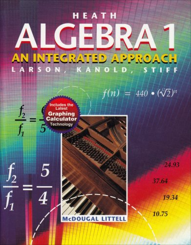 9780669433593: Heath Algebra 1: An Integrated Approach