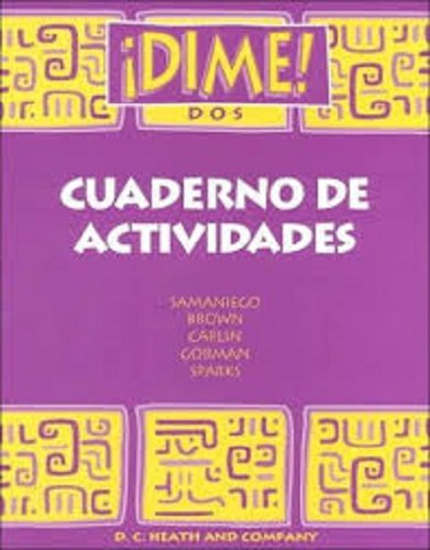 9780669433821: McDougal Littell Dime: Activity Workbook (Student) Level 1 (Spanish Edition)