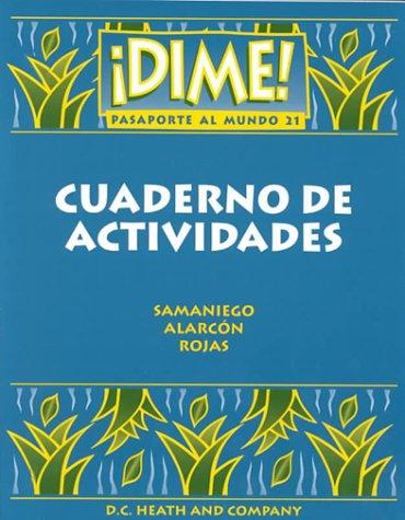 McDougal Littell Dime: Workbook (Student) Level 3 (Spanish Edition): LITTEL, MCDOUGAL