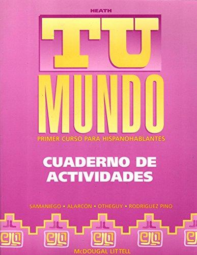 9780669434378: McDougal Littell Tu mundo Nuestro mundo: Workbook (Student) Tu Mundo Grades 9-12 (Spanish Edition)