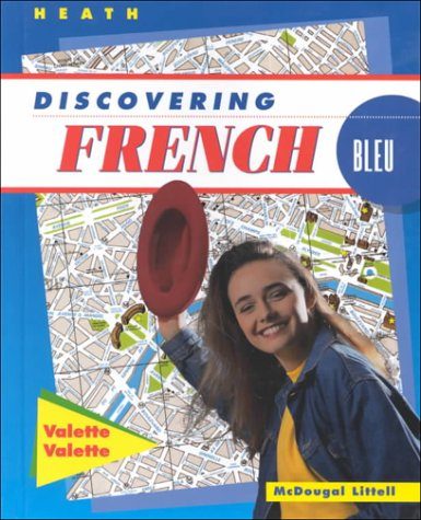 9780669434750: Discovering French: Bleu