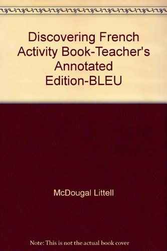 9780669434798: Discovering French: Bleu