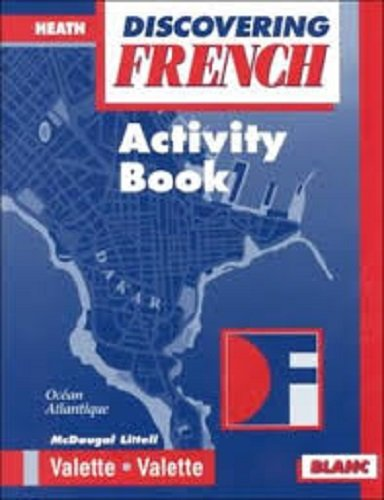 9780669435047: McDougal Littell Discovering French Nouveau: Activity Workbook Level 3