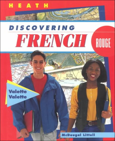 9780669435283: Discovering French: Rouge (English and French Edition)
