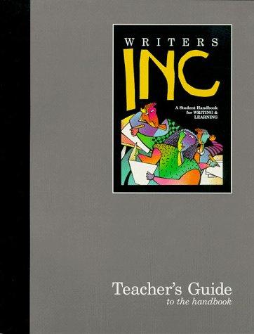 9780669437294: Writers Inc: Teacher's Guide to the Handbook