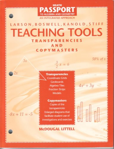 9780669440744: Health Passport to Algebra and Geometry An Integrated Approach Teaching Tools
