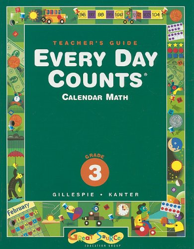 9780669441000: Every Day Counts: Calendar Math: Teacher's Guide Grade 3