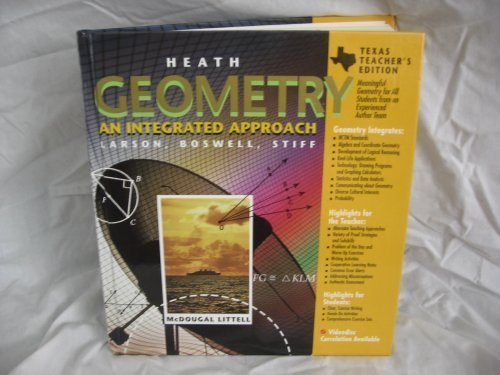 9780669452617: Heath Geometry An Integrated Approach - Worked-out Solution Key