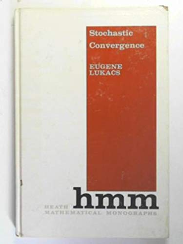 9780669455007: Stochastic Convergence