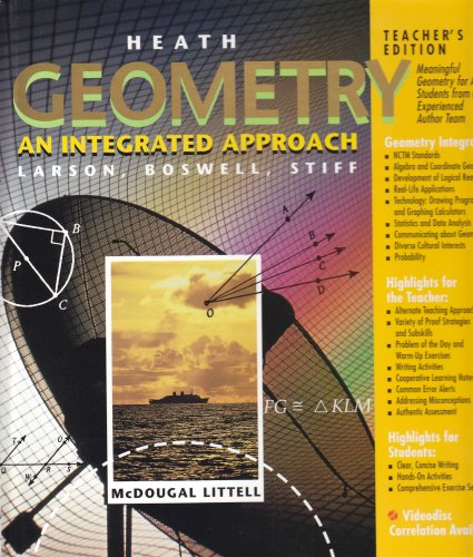 9780669455311: Geometry Introduction: An Integrated Approach, Teacher's Ed