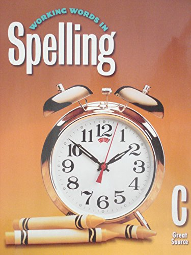 9780669459364: Great Source Working Words in Spelling: Student Text Grade 3