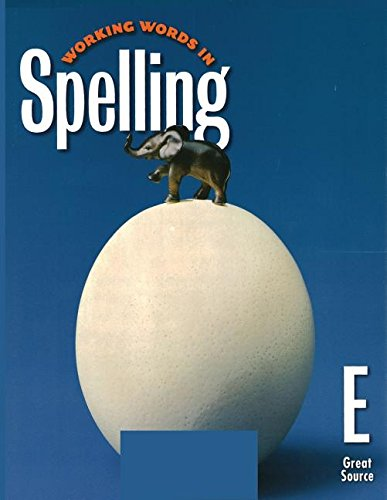 9780669459388: Working Words in Spelling, Level E, Student Workbook