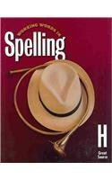 9780669459418: Working Words in Spelling: Level H (Great Source Working Words in Spelling)
