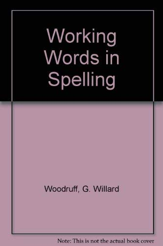 9780669459524: Great Source Working Words in Spelling: Teacher's Edition (Level C) 1998