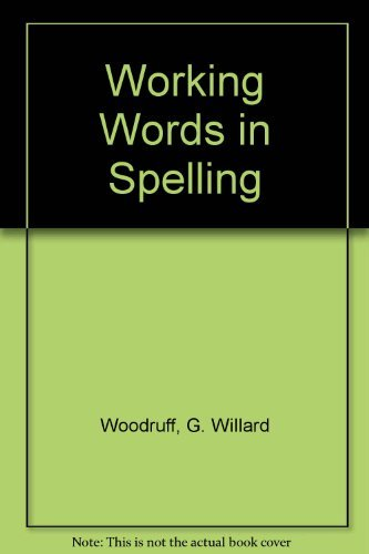 9780669459548: Great Source Working Words in Spelling: Teacher's Edition (Level E) 1998