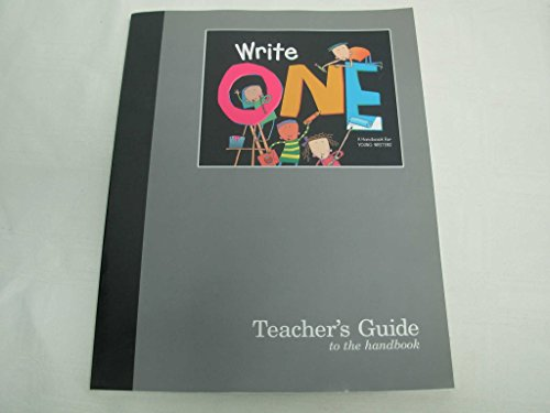 9780669459784: Great Source Write One: Teacher's Edition Grade 1 (Write Source 2000 Revision)