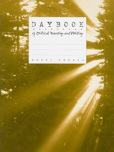 9780669464344: Great Source Daybooks: Softcover Student Edition Grade 11 Literature Inc. 1999