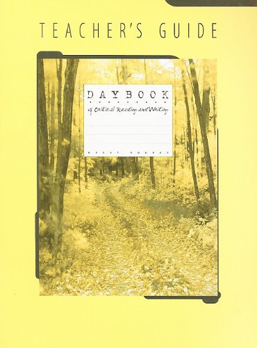 9780669464450: Great Source Daybooks: Teacher's Guide Grade 6