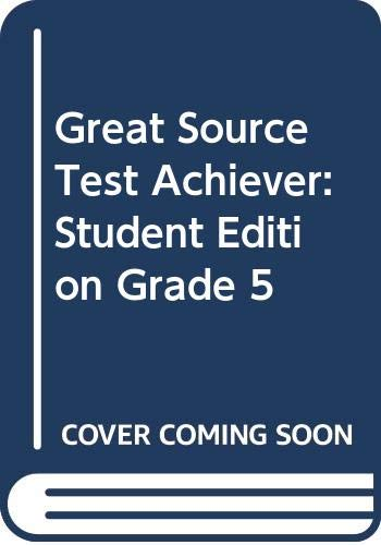 9780669464610: Great Source Test Achiever: Student Edition Grade 5