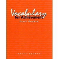 9780669464856: Vocabulary for Achievement - First Course (Teacher's Edition)