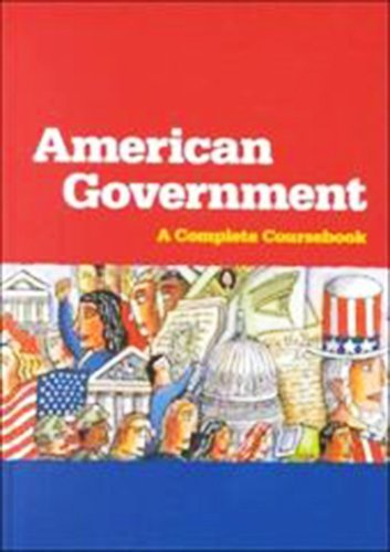 9780669467956: Steck-Vaughn American Government: Hardcover Student Edition 1999