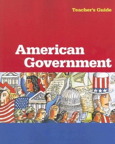 9780669467987: Steck-Vaughn American Government: Teacher's Guide 1999