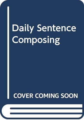 9780669470451: Daily Sentence Composing