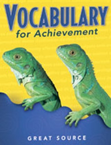 9780669471298: Vocabulary for Achievement Grade 3
