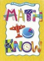 9780669471533: Math to Know: A Mathematics Handbook