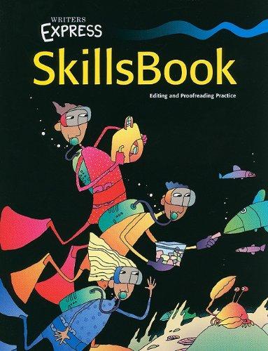 9780669471700: Writer's Express: Skills Book