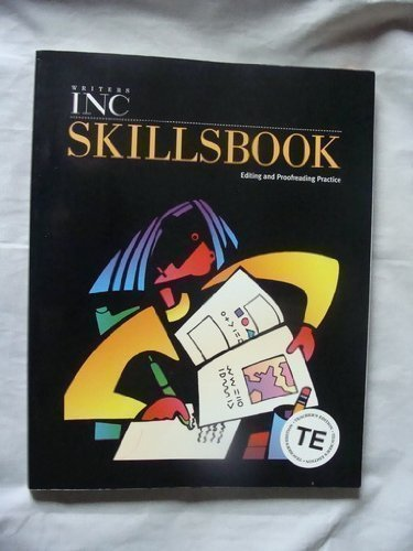 9780669471922: Writers Inc Skillsbook: Editing and Proofreading Practice, Teacher's Edition