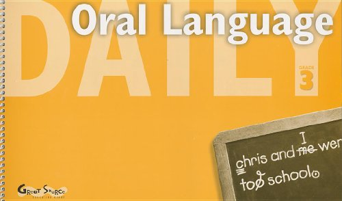 9780669475371: Great Source Daily Oral Language: Teacher's Manual Grade 3 2000