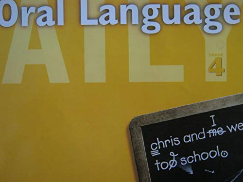 9780669475388: Daily Oral Language Grade 4