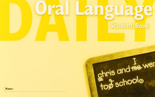 9780669475562: Daily Oral Language, Student Book