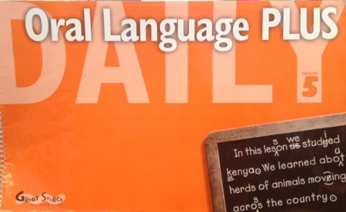 9780669475920: Great Source Daily Oral Language Plus: Teacher's Manual Grade 5 2000 (Dailies-grammer & Composition)