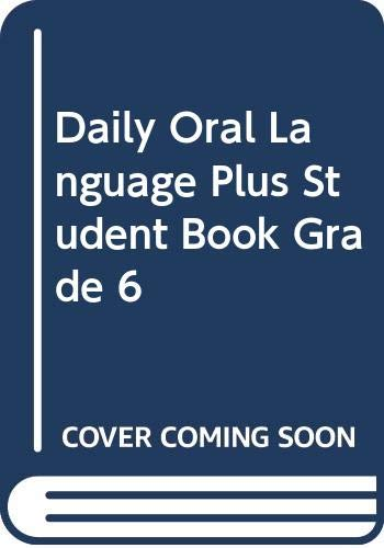 9780669476026: Daily Oral Language Plus Student Book, Grade 6