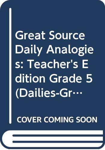 9780669476422: Daily Analogies (Grade 5)