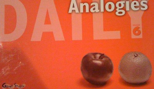 9780669476439: Daily Analogies (Grade 6)