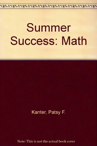 9780669478495: Great Source Summer Success Math: Student Edition Grade 1