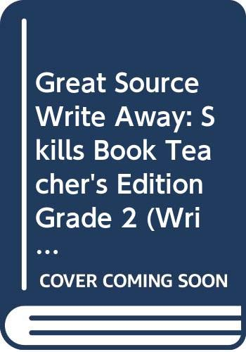 9780669482386: Write Away: A Handbook for Young Writers and Learners, Teacher's Edition