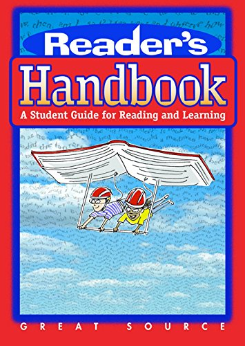 9780669488586: Great Source Reader's Handbook: A Student Guide for Reading and Learning (Great Source Reader's Handbooks)