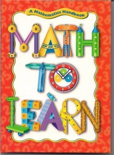 9780669488739: Great Source Math to Learn: Handbook Grades 1 - 2 (Math Handbooks)
