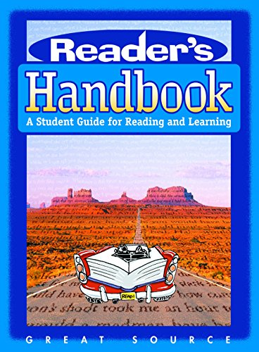 9780669490084: Reader's Handbook: A Student Guide for Reading and Learning (Great Source Reader's Handbooks)