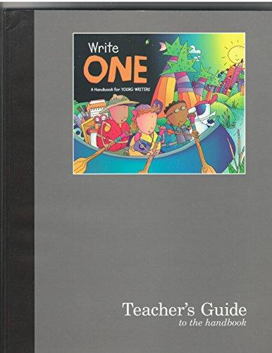 Great Source Write One: Teacher's Guide Grade 1 (9780669490145) by Dave Kemper; Carol Elsholz; Patrick Sebranek