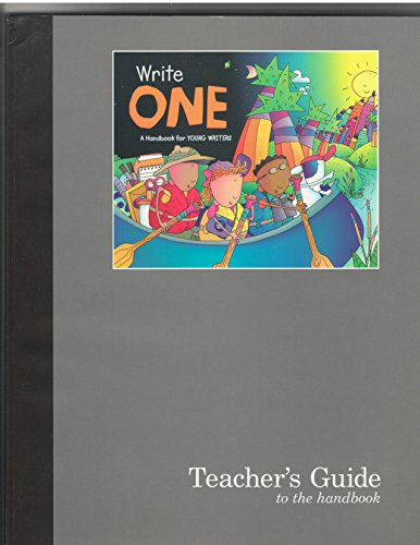 9780669490145: Write One: A Handbook for Young Writers (Grade 1)
